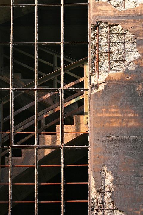 Industrial Park, Industrial Architecture, Ruin