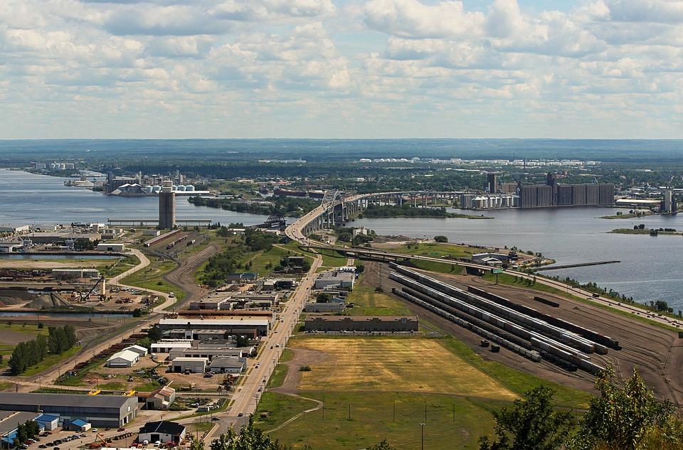 Industrial Complex, Railyard, Harbor, Harbour