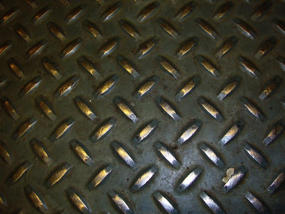 Industrial, Diamond Plate Steel, Diamond Plate, Steel