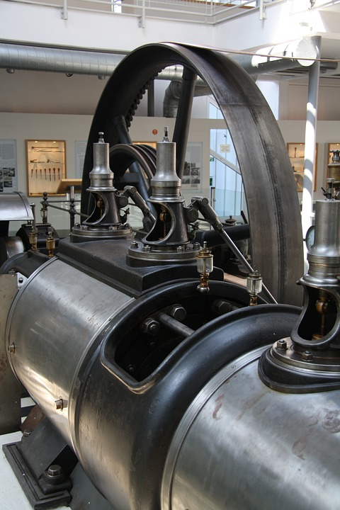 Steam, Engine, Power, Industrial, Technology, Historic