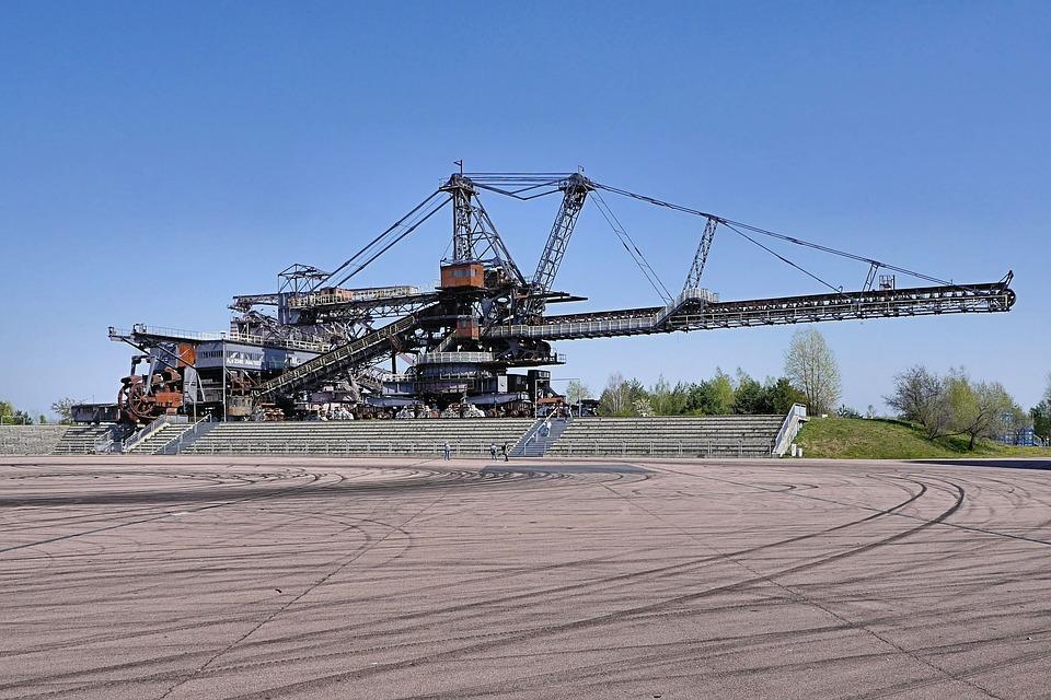 Industrial Monument, Machine, Industry, Coal Excavator