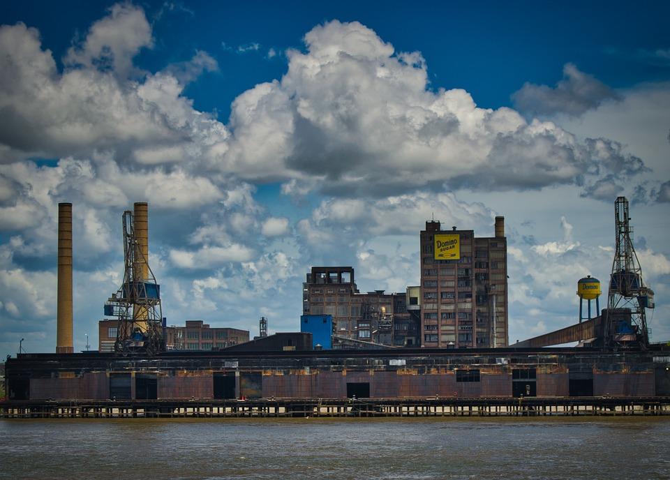 Factory, Industry, Sugar, Industrial Plant