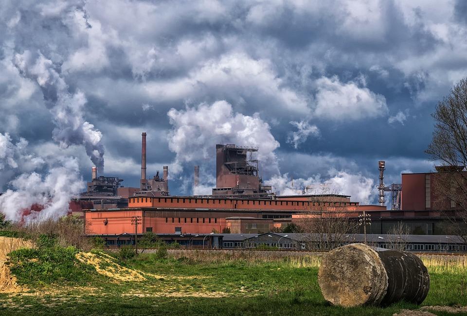 Industry, Steel Mill, Factory, Industrial Plant, Steel