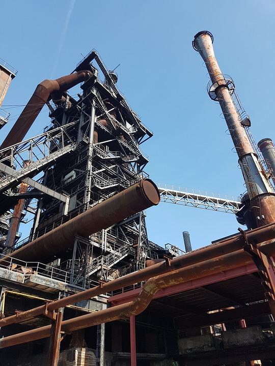 Industry, Industrial Park, Industrial Ruin