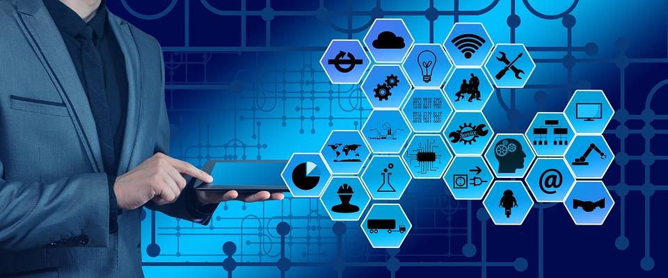 Industry, Industry 4, Web, Network