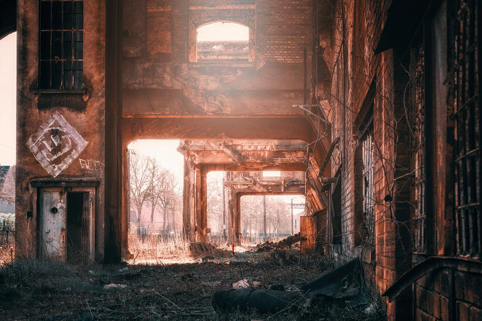 Factory, Abandoned Places, Industry, Building