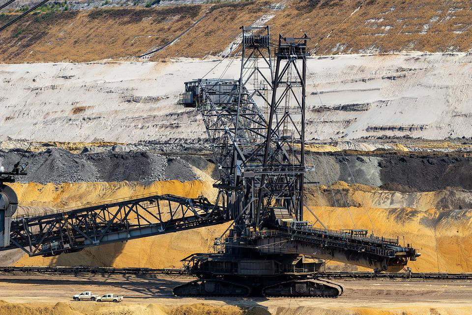 Open Pit Mining, Carbon, Coal Mining, Industry, Mining