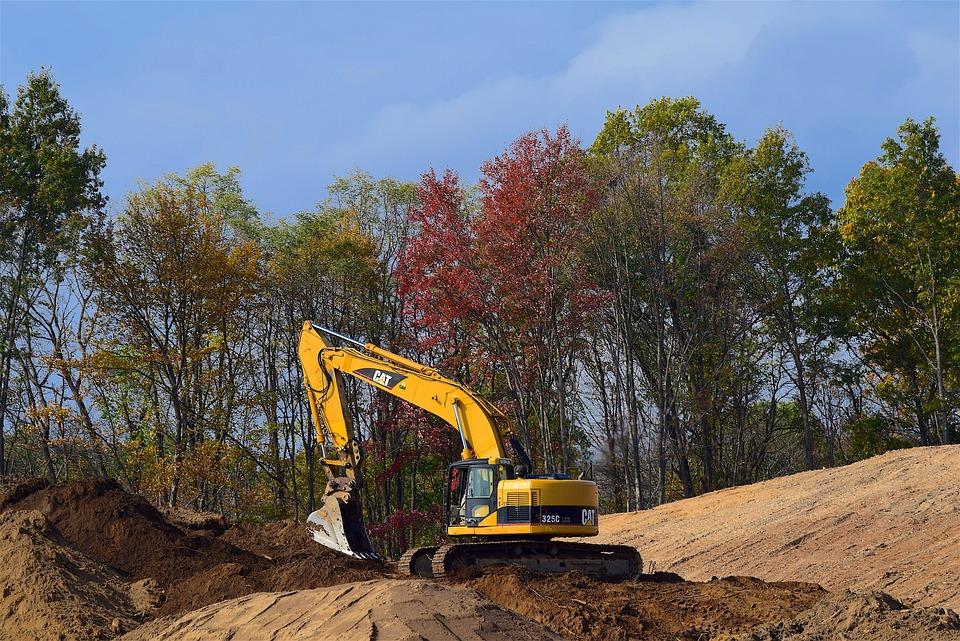 Construction, Machine, Shovel, Equipment, Industry