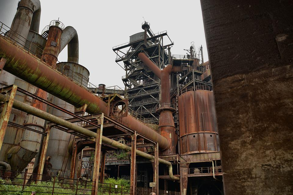 Lost Place, Industry, Factory, Industrial Plant
