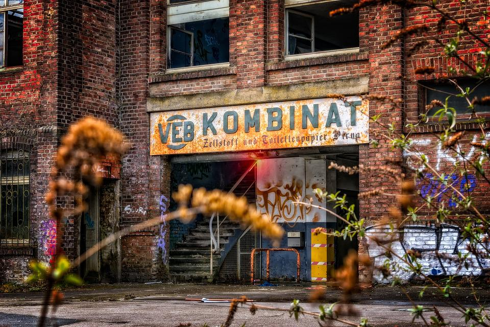 Factory, Industry, Factory Building, Lost Places