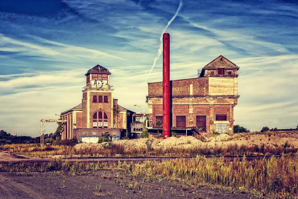 Factory, Industry, Lost Places, Industrial Plant