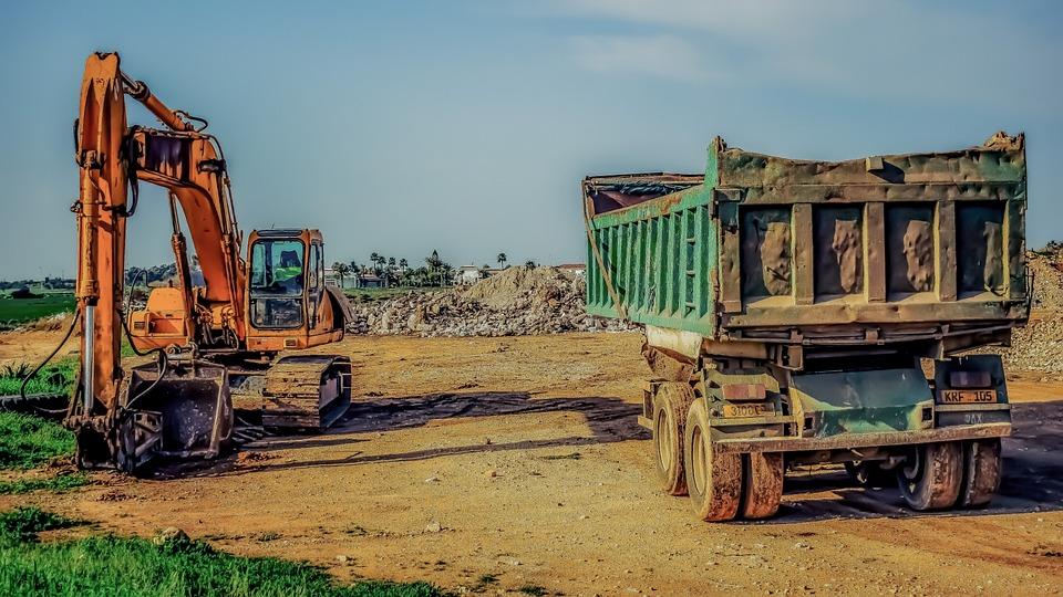 Machine, Industry, Vehicle, Heavy, Equipment, Machinery