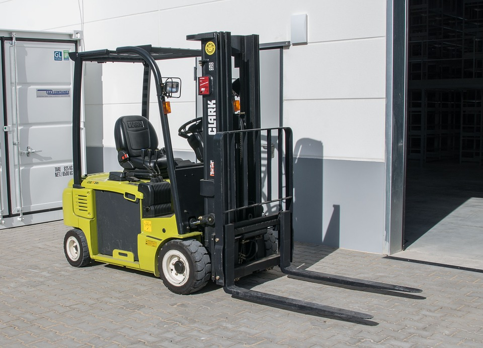 Machine, Forklift, Logistics, Transport, Industry