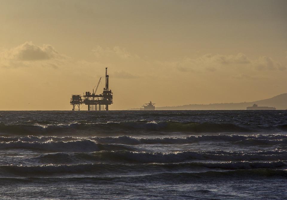 Oil Platform, Offshore Platform, Oil Rig, Industry