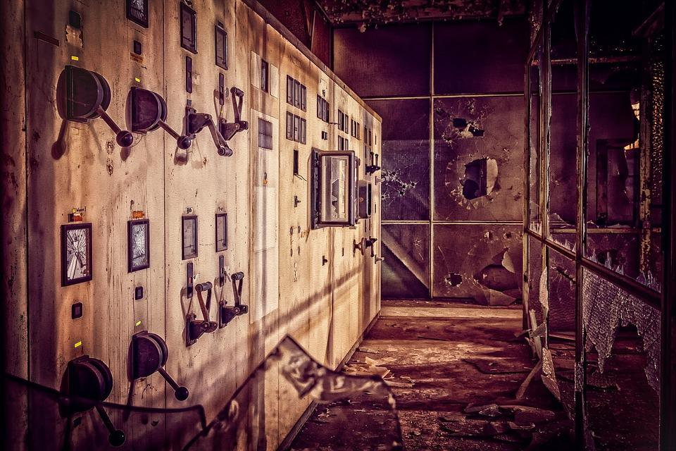 Lost Places, Industry, Factory, Industrial Plant, Past