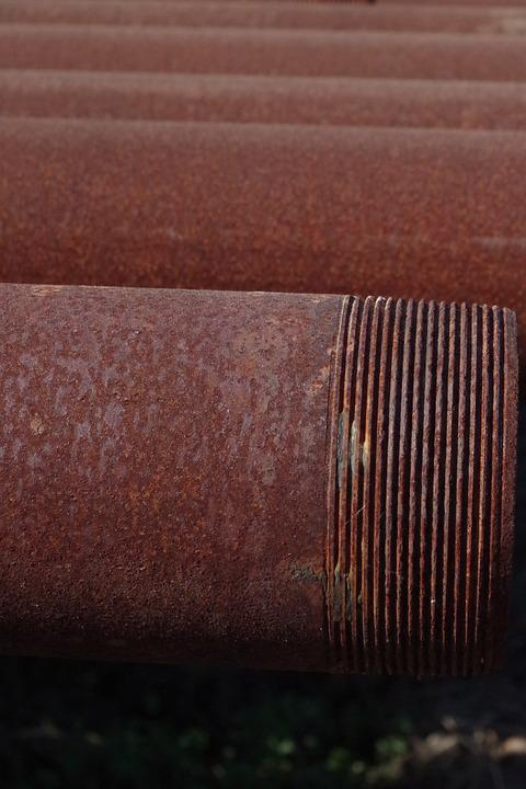Rust, Pipe, Old, Rusted, Industry, Industrial