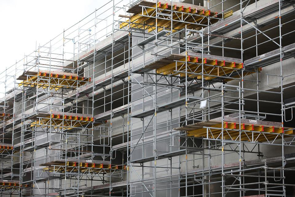 Industry, Expression, Steel, Scaffolding, Business