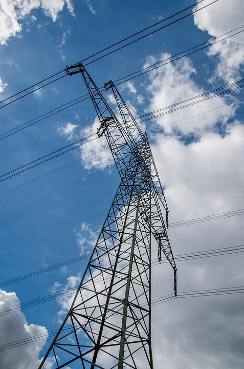 Electricity, Strommast, Voltage, Performance, Industry
