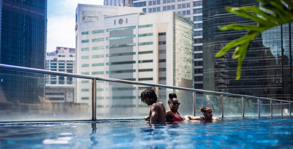 Swimming Pool, Infinity Pool, Manilla, City Pool