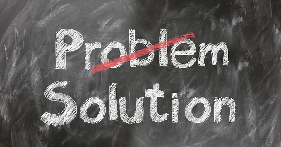 Problem, Solution, Help, Support, Information, Info