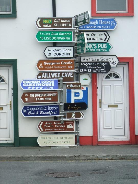 Sign Posts, Street Sign, Post, Sign, Information