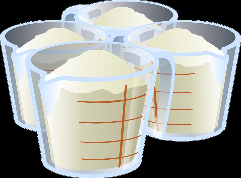Ingredients, Sugar, Flour, Ingredient, Measuring Cup