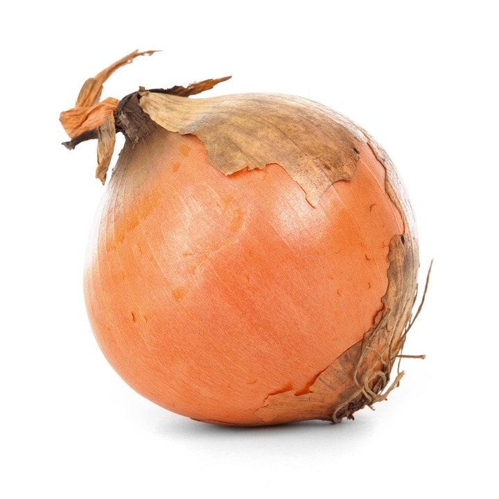 Onion Bulb, Food, Fresh, Healthy, Ingredient, Isolated
