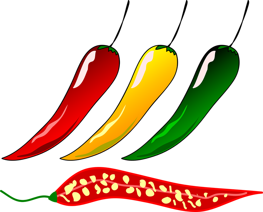 Chili Pepper, Chili, Pepper, Hot, Spices, Ingredient