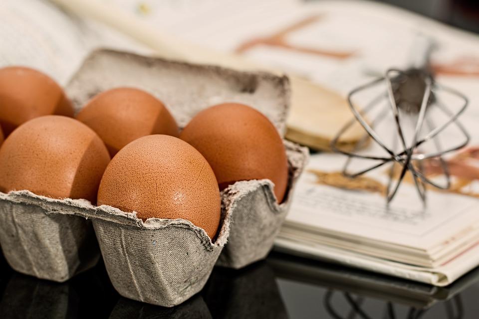 Eggs, Ingredients, Baking, Food, Egg Carton, Raw