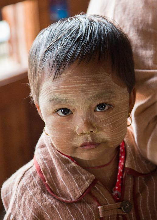 Burma, Inle Lake, Portrait