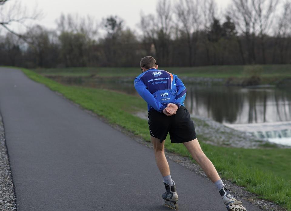Inline Skates, Skater, Sport, Strength, Endurance, Road