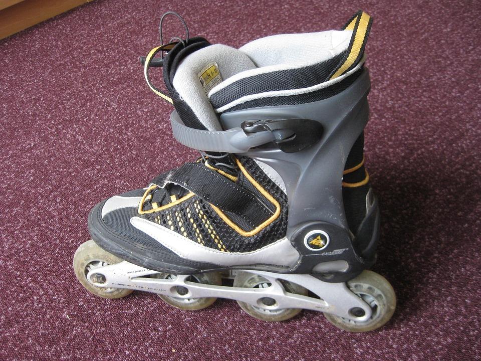 Inline Skating, Roller Skates, Rollerblading, Sport
