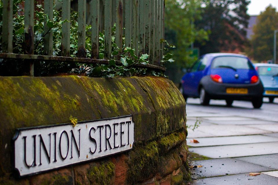 Street, City, Inner City, England, York, City Street