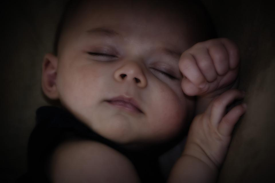 Peace, Sleeping Baby, Hands, Fist, Innocence, Baby