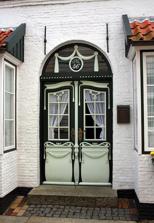 Front Door, Friesentür, Input, House Facade, Husum