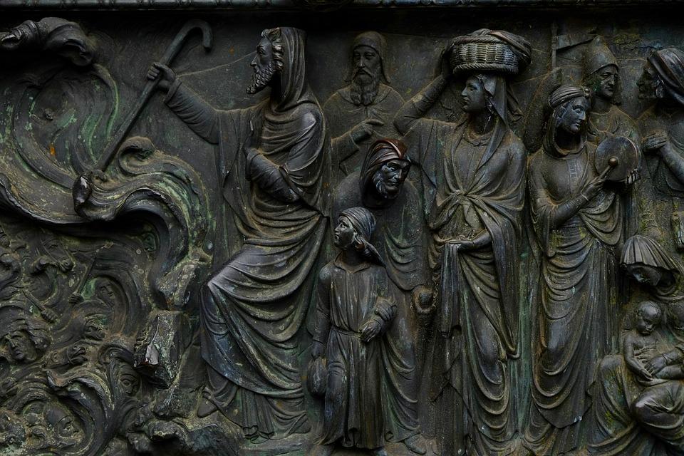 Relief, Image, Historically, Facade, Input, Church