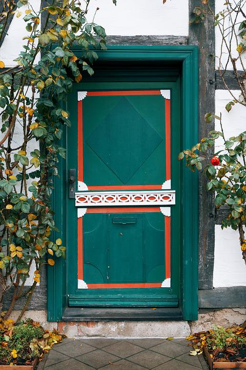 Door, Home, Architecture, Input, Output, House Entrance