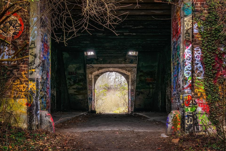 Tunnel, Input, Lost Places, Pforphoto, Abandoned Places
