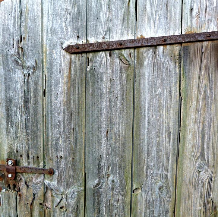 Wood, Door, Wooden Door, Input, Door Opening, Simply