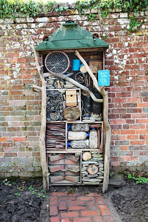 Bugs Hotel, Bugs, Insect, Nature, House, Wood, Ecology