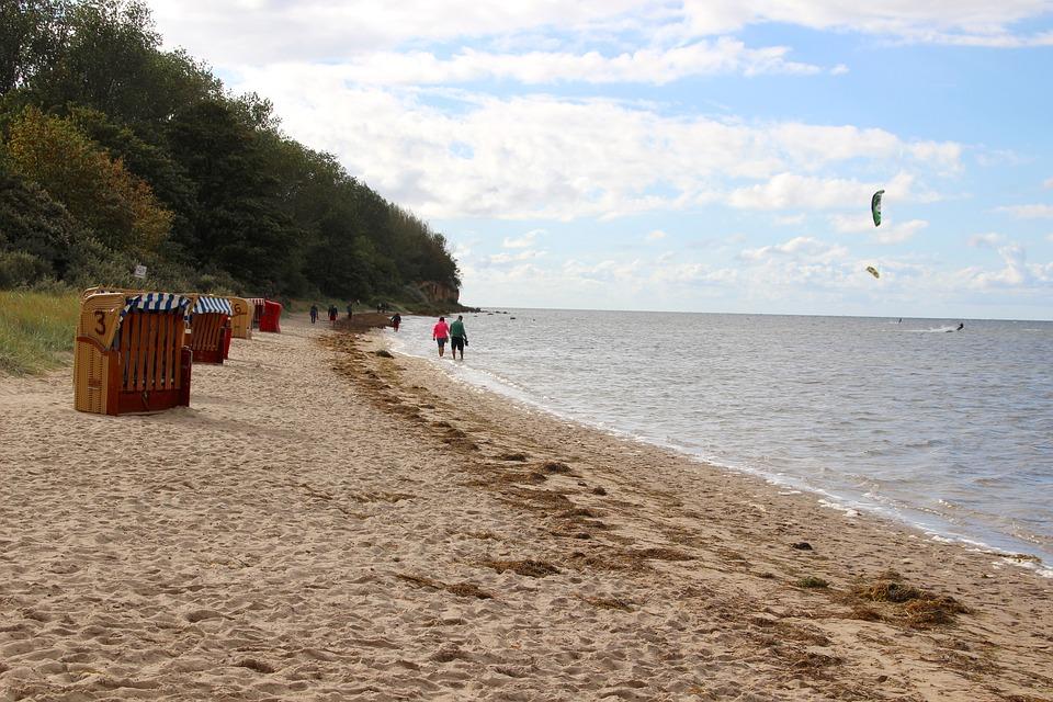 Summer, Sun, Beach, Poel, Insel Poel, Beach Chair, Sea