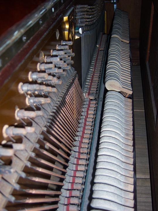 Piano, Key, Inside, Piano Keys, Music, Keyboard