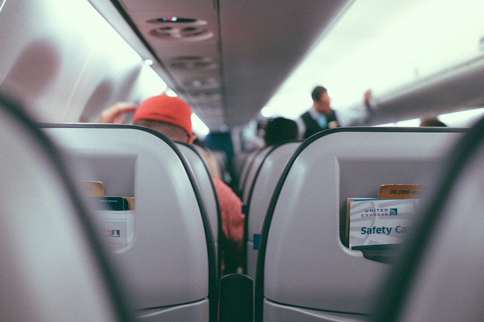 Inside, Airplane, Airline, Travel, Trip, Passengers