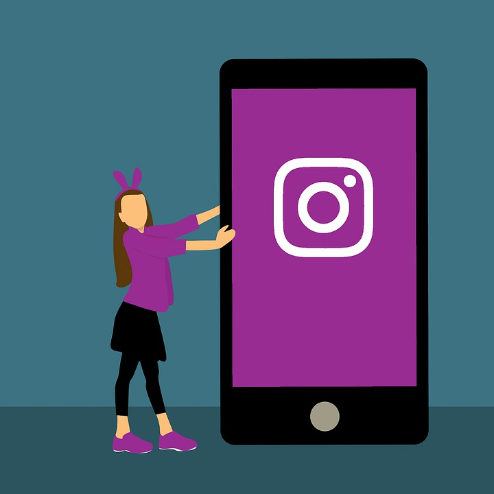free photo instagram girl social media woman business