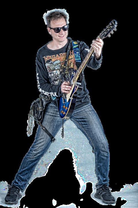 Guitarist, Electric Guitar, Guitar, Instrument