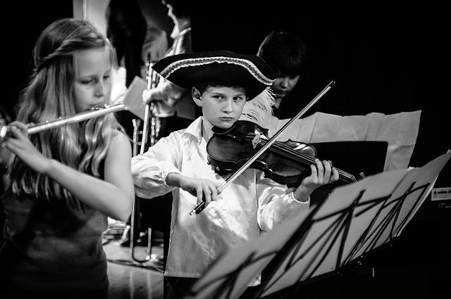 Music, Musician, Concert, Instrument, Flute, Violin