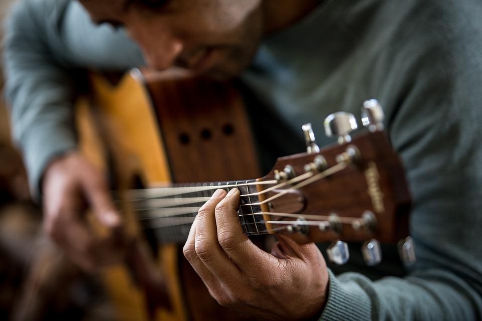 Guitar, Player, Music, Guitarist, Instrument, Man