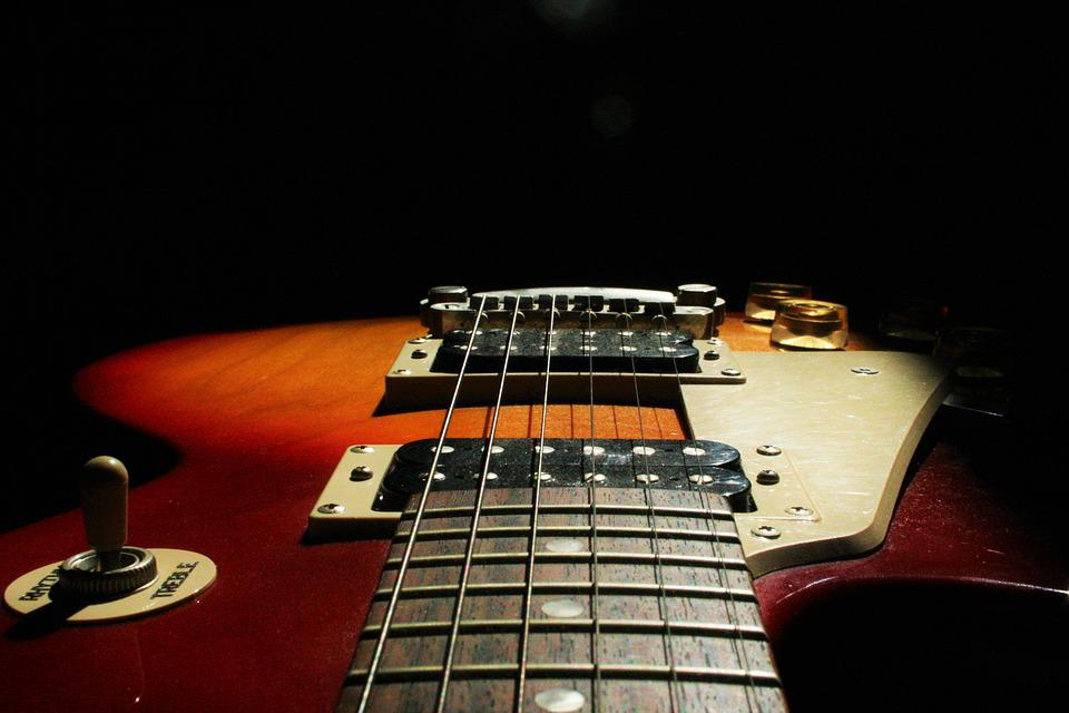 Guitar, Electric, Instrument, Music, Band, Rock