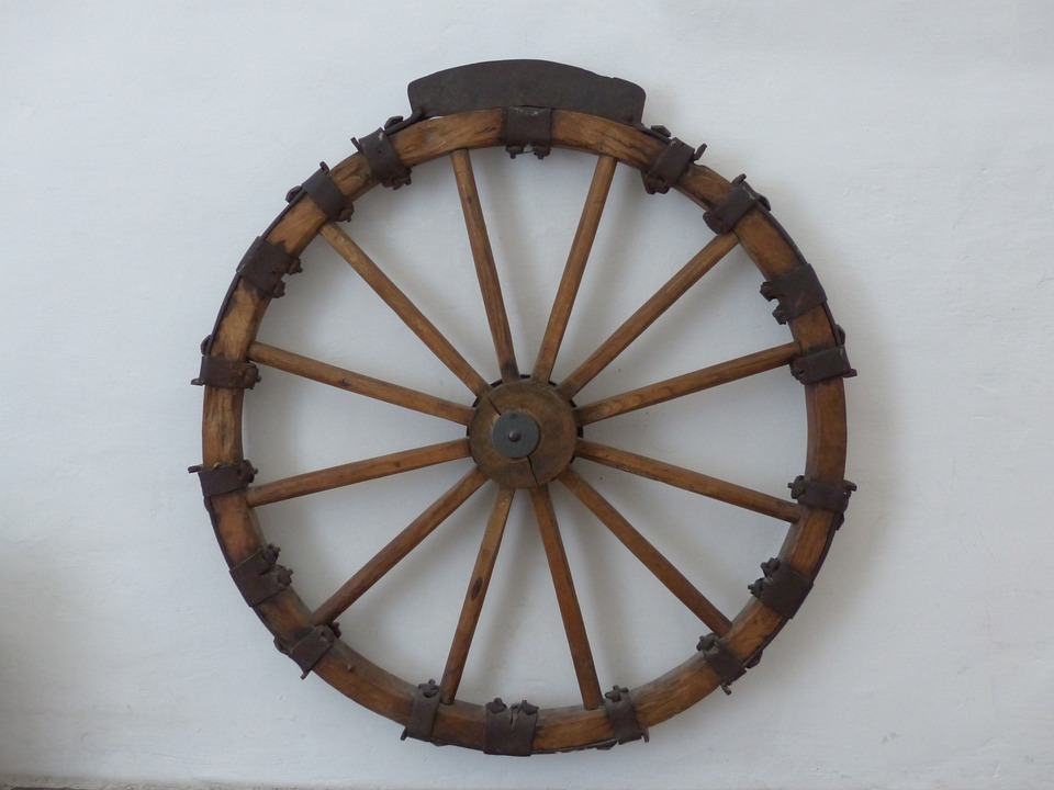 Wheel, Wagon Wheel, Instrument Of Torture, Middle Ages