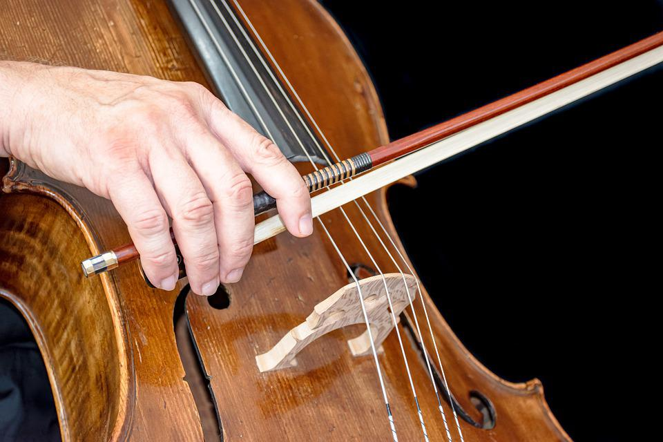 Cello, Old, Instrument, Music, Sound, Brown, String